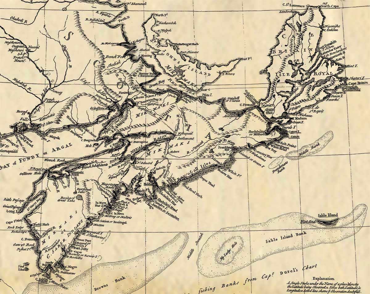 Experience our Acadian History