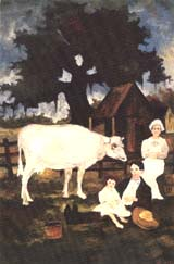 LIFE IN A NEW LAND by George Rodrigue